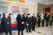 Lincoln Poppy Appeal Launch, Waterside Shopping Centre, 1st November 2008