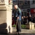 Don Millns - Lincoln War Memorial, 7th November 2009