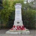 Gainsborough War Memorial, 11th November 2009