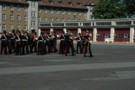 Talavera Parade, 2009. REME Band. 2nd Battalion 'Poachers' The Royal Anglian Regiment.