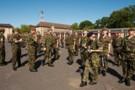 Talavera Parade, 2009. 2nd Battalion 'Poachers' The Royal Anglian Regiment.