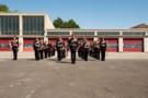 Talavera Parade, 2009. REME Band. 2nd Battalion 'Poachers' The Royal Anglian Regiment.