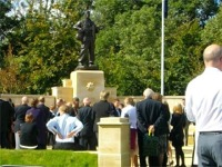The Royal Anglian Memorial, Duxford, 13 September 2010
