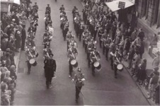 The Band of the East Anglia Regiment, 1961 - Freedom of Lincoln Parade