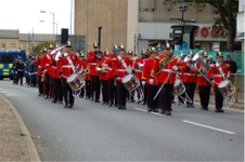 Band of the Royal Anglian Regiment in Peterborough, 2007 (Photo © 'Lens Envy' www.flickr.com/photos/lens_envy/)