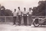 Keith Sismore, Graham Weightman, Alan Morely, Brian Revel (Penang)