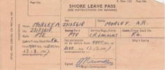 Shore Leave Pass