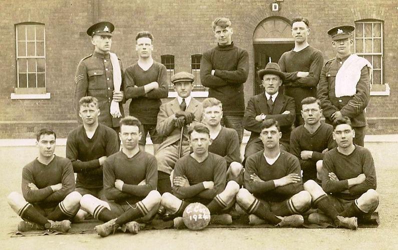 C Coy Football Team, 1924