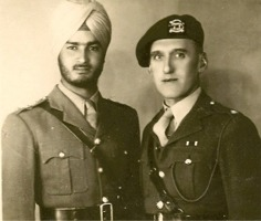 Ahwaz, Persia 1946, Captain Janmeja Singh and Major Albert 'Dick' Edwards