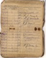 WWI Pay Book