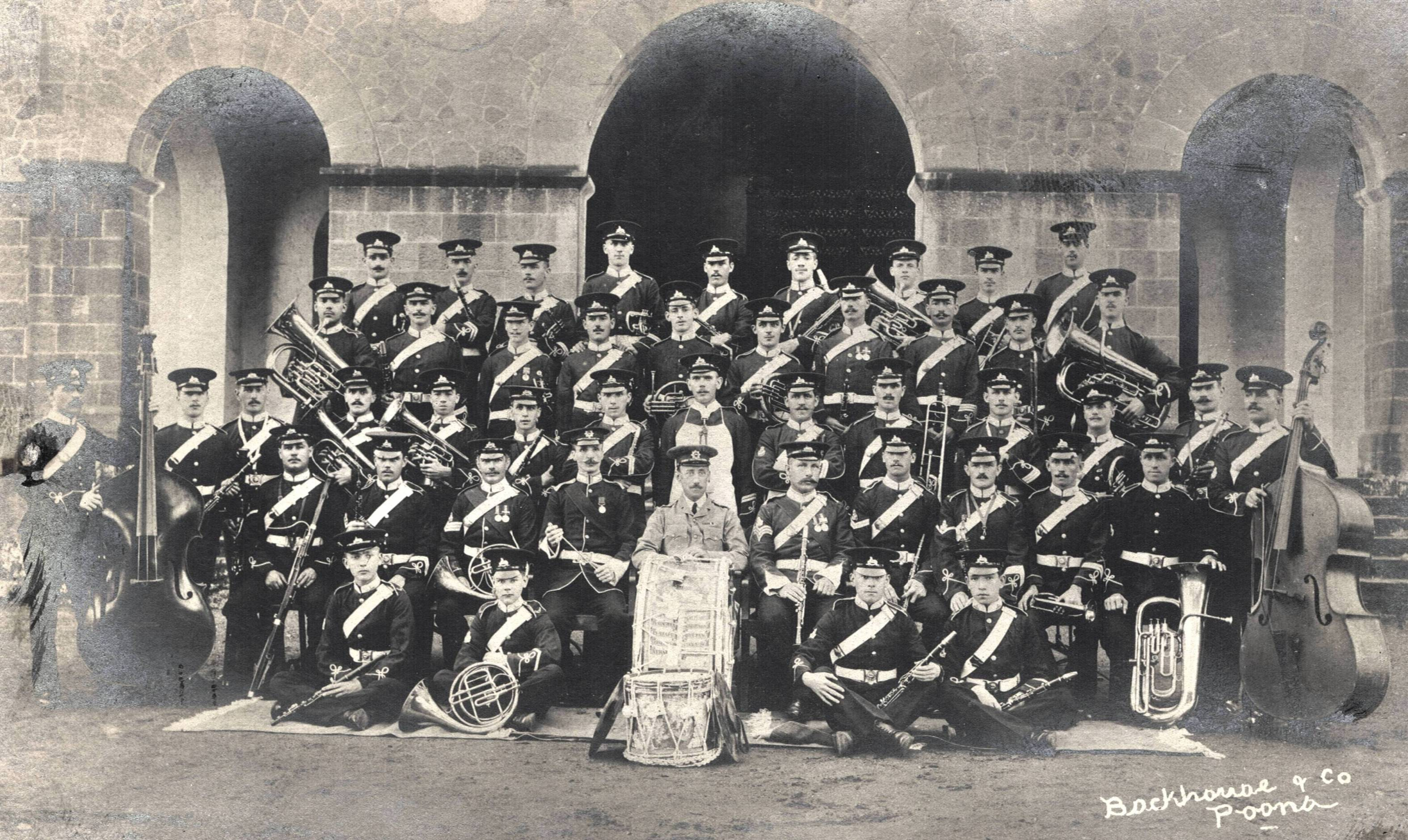 1st Battalion Band, Poona