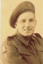Raymond Tyack, 4th Bn. during WWII