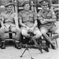 1946: 2 Btn. NCO's Small Arms Course, Singapore.