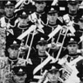 1949: 1st Btn Band & Drums. Moascar, Egypt.