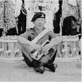 1956: 1 Btn Royal Lincolnshire Regt Band & Drums.  Penang.