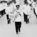 1958: Band & Drums Malayan Independence Day Parade.  Taiping.