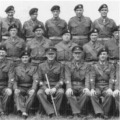 1960: Officers & Sgts of 4/6th Btn, The Royal Anglian Regiment. Carnoustie.