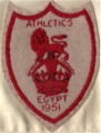 'Bunny' Barrett's Athletics Badge