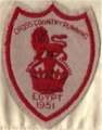 'Bunny' Barrett's Cross Country Running Badge