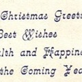 Christmas Card, Egypt, 1950