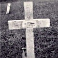 Grave of Pte Thompson. 1957.