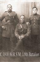 George Beeton - Regimental Sergeant Major, 1/8th Battalion