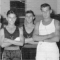 1957: Royal Lincolnshire Regt.  Winners of the Malaya Command Inter-Unit Boxing Championships 1956 & 1957.  Chinwu Stadium, Kuala Lumpur.