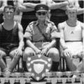 1957: Royal Lincolnshire Regt.  Winners of the Malaya Command Inter-Unit Boxing Championships 1956 & 1957.  Chinwu Stadium, Kuala Lumpur.