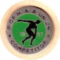 1957 Competitors Badge