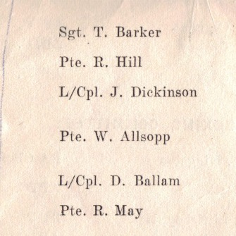 Malaya Command, Inter-Unit Boxing Championships Final 1956-57 (pages 2 & 3)