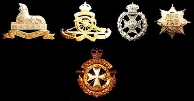 Bermuda Regiment Badge Family