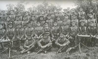 2nd BVRC Overseas Contingent, 1916.