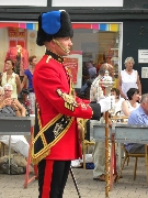Drum Major Barnes - Royal Engineers