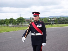 Sgt Chris Headland, 2005