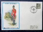 1974 First Day Cover, to celebrate the presentation of new colours, Tidworth.