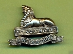 1st Volunteer Battalion, The Lincolnshire Regiment. Cap Badge.