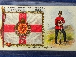 5th Battalion Lincolnshire Regiment (TF), early C20th cigarette card.