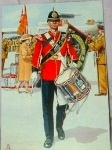 Postcard: Drummer, 1995, Royal Anglian Regiment.