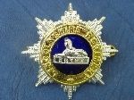 Pre 1946 Officers' No.1 dress (Blues, Patrols) Cap Badge.