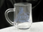 These Lincolns' half pint glasses were sold in the museum for several years.