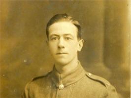 Cpl Issac Edwin Headland (Ted) WW1.