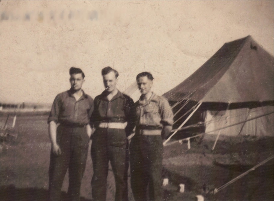 24th Jan 1946, Padres-Hanna, Palestine.  L to R: Dyer, Mouse, Brown.