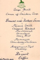 Menu: 16th March 1959