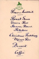 Menu: 19th December 1959, Ladies Night