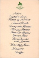 Menu (undated)