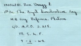 Address 7 April 1949.