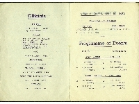 3rd Infantry Brigade District Individual Boxing Championships - 1950 programme, dated 24th January 1950 (pages 1 & 2)