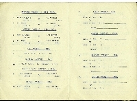 3rd Infantry Brigade District Individual Boxing Championships - 1950 programme, dated 24th January 1950 (pages 3 & 4)