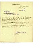 19036381 Pte. Wragg, F. - Army Reserve instructions letter, dated 14th October 1952
