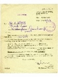 19036381 Pte. Wragg, F. - Army Reserve discharge letter, dated 17th November 1958